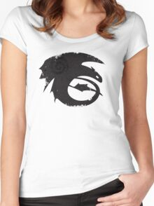 HTTYD2 #2 Women's Fitted Scoop T-Shirt