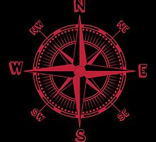 Red Compass by kwg2200