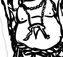Laughing Buddha Sticker