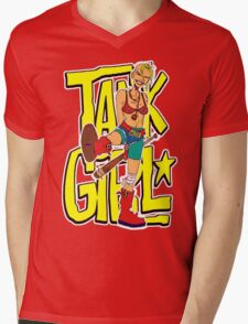 Funny Tank Girl Mens V-Neck T-Shirt