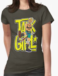 Funny Tank Girl Womens Fitted T-Shirt