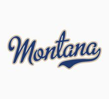 Montana Script  Blue by Carolina Swagger