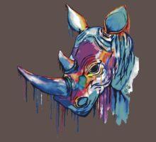 Melting Rhino One Piece - Short Sleeve