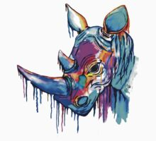 Melting Rhino One Piece - Short Sleeve