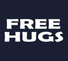 Free Hugs T-Shirt Poster Sticker Kids Tee