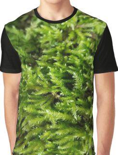 Green moss Graphic T-Shirt