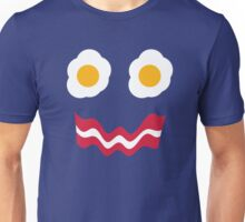Eggs and Bacon Face Unisex T-Shirt