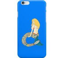 Blond Mermaid iPhone Case/Skin