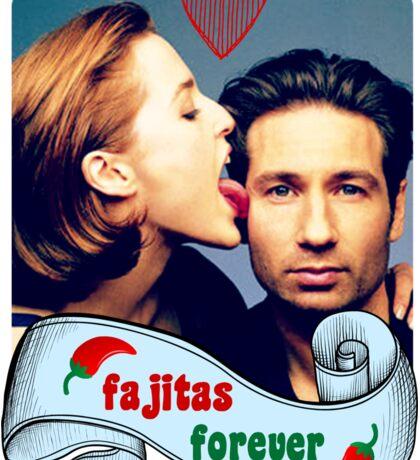 Fajitas Forever X Files Chili's  Sticker