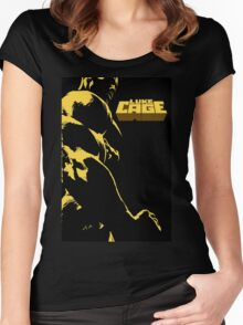 Luke Cage Poster Women's Fitted Scoop T-Shirt