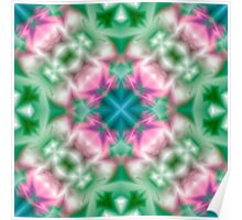 Psychedelic pattern.  Poster