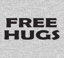 Free Hugs - Baby Jumpsuit PJ Kids Clothing Baby Tee