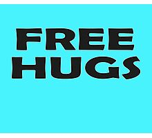 Free Hugs - Baby Jumpsuit PJ Kids Clothing Photographic Print
