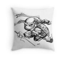 Raphael - TMNT Throw Pillow