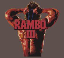 RAMBO III - SEGA GENESIS Baby Tee