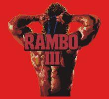 RAMBO III - SEGA GENESIS Kids Tee