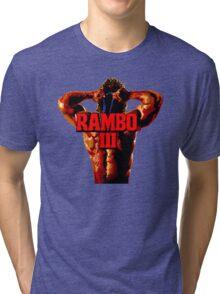 RAMBO III - SEGA GENESIS Tri-blend T-Shirt