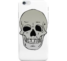 Skull head iPhone Case/Skin