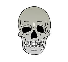 Skull head Photographic Print