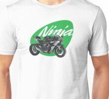 Kawasaki ninja H2, H2R Motorbike Motorcycle Bike Unisex T-Shirt