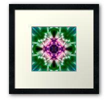 Psychedelic pattern.  Framed Print