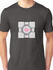 Portal companion cube Unisex T-Shirt