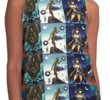 Four Warriors Contrast Tank