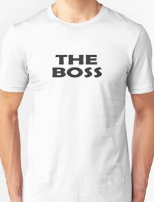 Who's The Boss - Cute Baby Onesie Jumpsuit Child Clothing Unisex T-Shirt