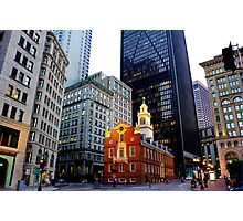 The Old State House Photographic Print