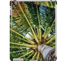 Palm tree with Retro summer filter effect iPad Case/Skin