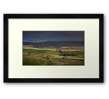 Ribblesdale, Yorkshire Framed Print