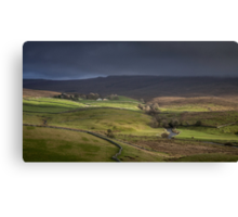 Ribblesdale, Yorkshire Canvas Print