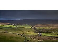 Ribblesdale, Yorkshire Photographic Print