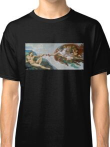 The Creation of Adam Beer Meme Classic T-Shirt
