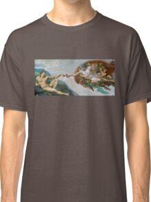 The Creation of Adam Beer Meme Classic T-Shirt