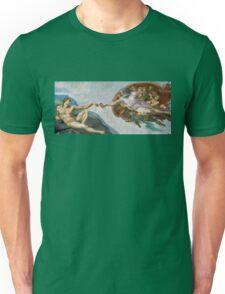 The Creation of Adam Beer Meme Unisex T-Shirt