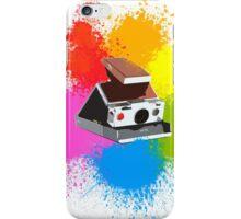SX70 Instant Art iPhone Case/Skin