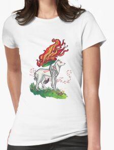 Okamiterasu Womens Fitted T-Shirt