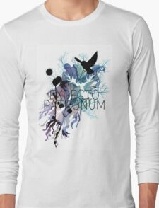 EXPECTO PATRONUM HEDWIG WATERCOLOUR Long Sleeve T-Shirt