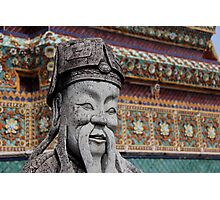 Buddhist Statue Photographic Print