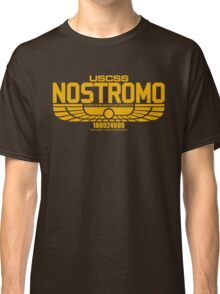 NOSTROMO ALIEN MOVIE STARSHIP (YELLOW) Classic T-Shirt