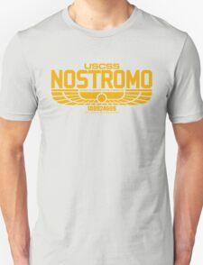 NOSTROMO ALIEN MOVIE STARSHIP (YELLOW) Unisex T-Shirt