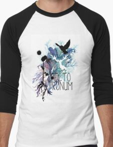EXPECTO PATRONUM HEDWIG WATERCOLOUR 2 Men's Baseball ¾ T-Shirt