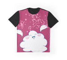 Wanda Happy Cloud Confetti Graphic T-Shirt