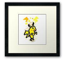 pikachu dude Framed Print