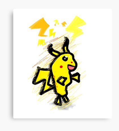 pikachu dude Canvas Print