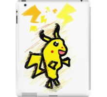 pikachu dude iPad Case/Skin