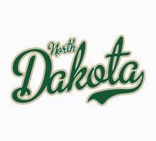 North Dakota Script Green by Carolina Swagger