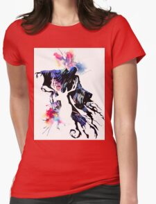 HARRY POTTER WATERCOLOUR NO STARS Womens Fitted T-Shirt