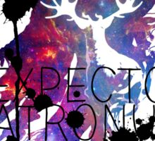 EXPECTO PATRONUM HEDWIG GALAXY 2 Sticker